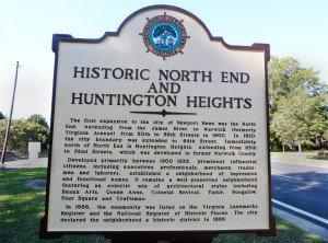 Historic marker at 67th St. and Huntington Ave.